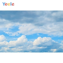 Yeele Blue Sky White Cloud Solid Baby Angle Shower Wedding Photo Photography Backgrounds Photographic Backdrops For Photo Studio цена