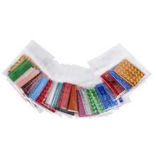 20PCS 4x20cm Mix Color Transfer Foil Nail Art Star Design Sticker Decal For Polish Care DIY Manicures Nail Art Tools