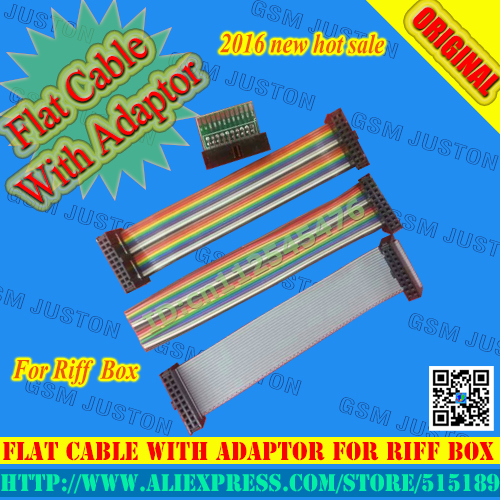 Flat Cable With Adaptor For Riff Box