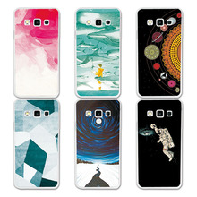 Couple Phone Case For Samsung A3 2015, 14 Patterns Universe Planet Astronauts Design Coque For Samsung Galaxy A3 A3000 A300F