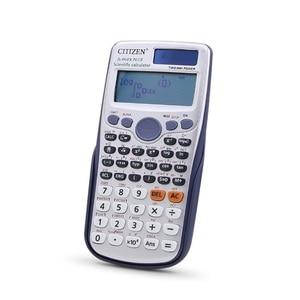 Image 2 - Фирменная Новинка FX 991ES PLUS оригинальный научный калькулятор 417 функции для старшей школы Университета студенты офис монета батареи