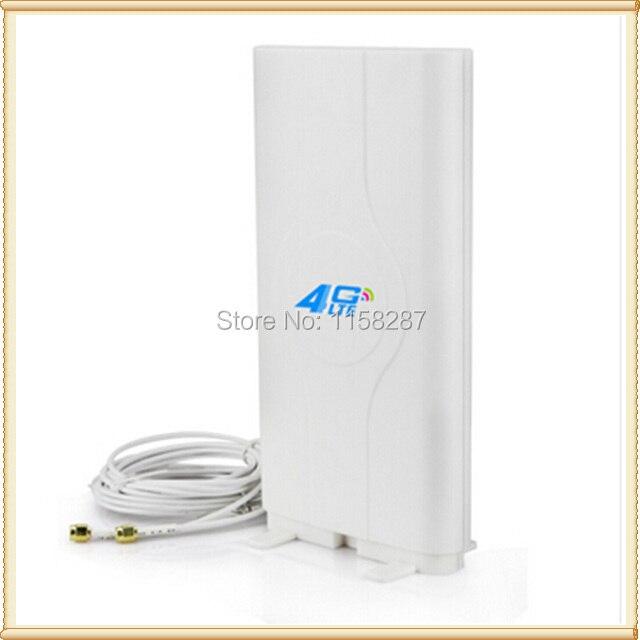 4 גרם LTE גבוהה רווח mimo פנל כיוונית אנטנה TS9 עבור huawei E5776 E5786 E5377 E5372 E5573 E589 Aircard AC779S AC810S