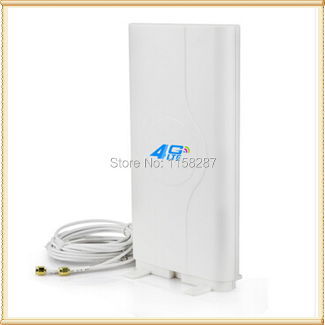 4G LTE high gain mimo panel directional antenna TS9 for huawei E5776 E5786 E5377 E5372 E5573 E589 Aircard AC779S AC810S