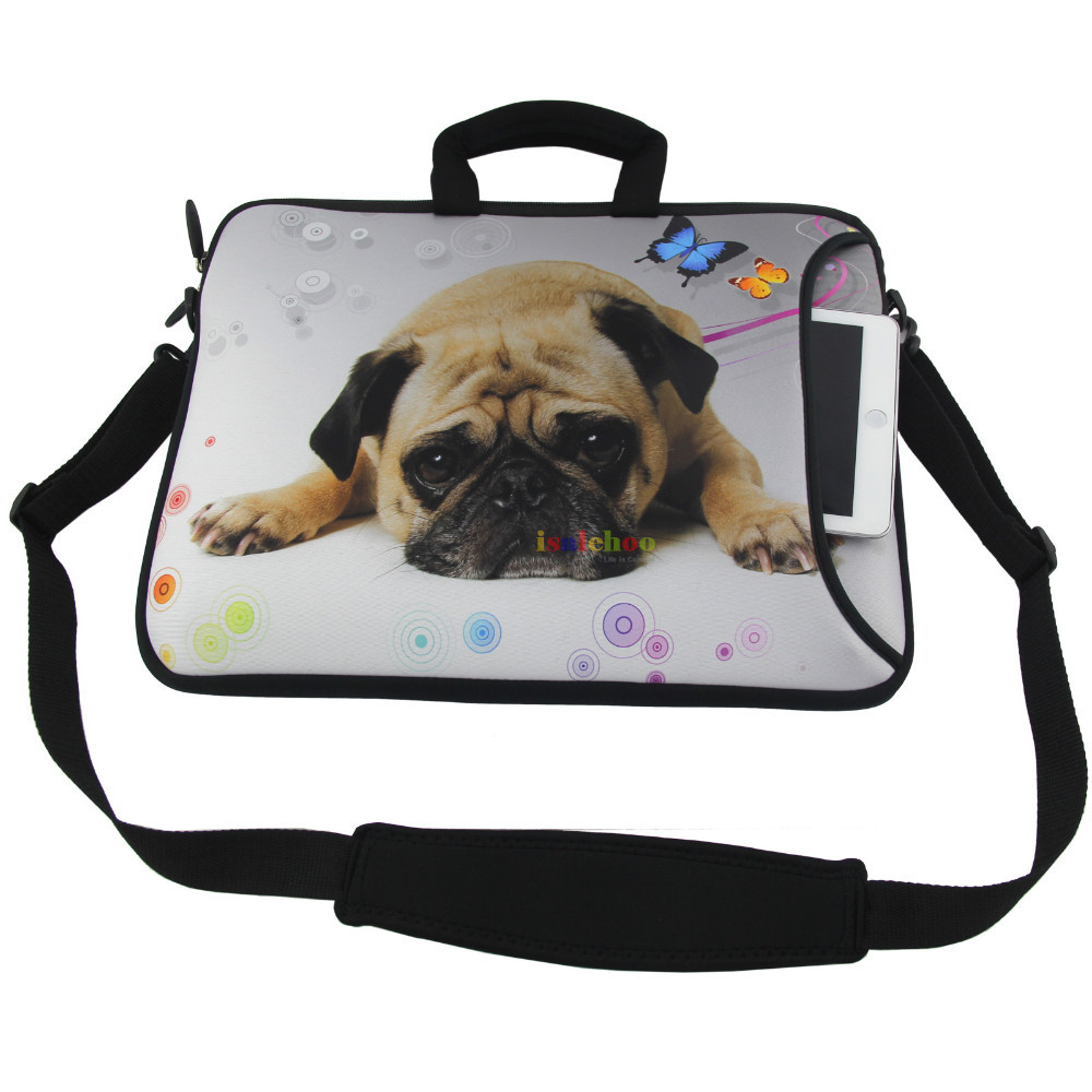 0d279b01af8 Blue Dragon Laptop Sleeve Case 10 12,13,14,15 17 inch Notebook Computer  Shoulder Bag For MacBook Dell Asus Acer HP Sony-in Laptop Bags & Cases from  Computer ...