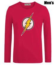 The Flash Symbol Print Men's Shirt (4 colors)