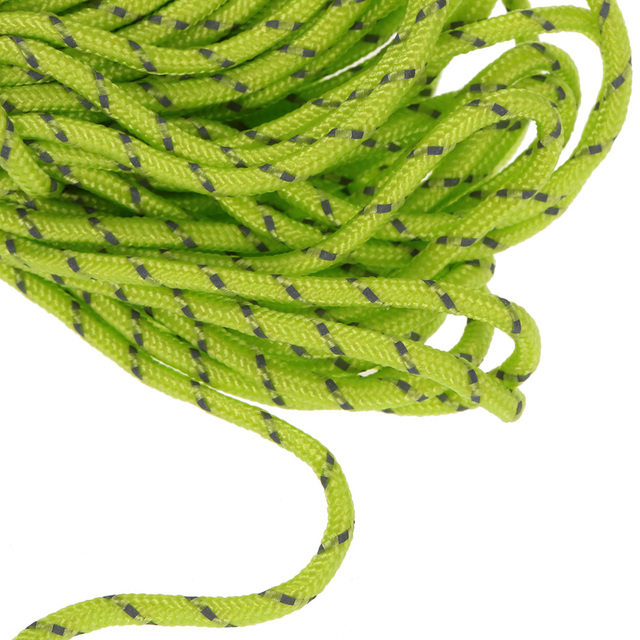 20m Multifunction Tent Rope Reflective At Night Tent Accessories Outdoor Sports Camping Hiking 2mm Durable Polypropylene Rope