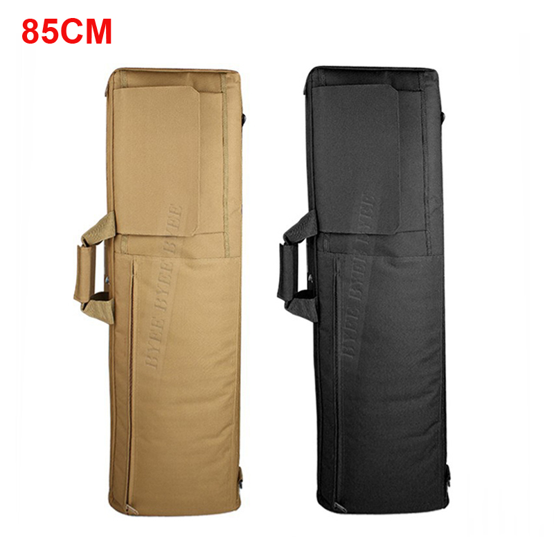 0.85M Heavy Duty Tactical Gun slip Bevel Carry Bag Rifle Case Bag Cover Shoulder Backup Pouch Hunting shortgun Carrying Cases blk tree leaf sand hunting tactical rifle gun bag 1000d oxford fabric airsoft gun case shoulder bag heavy duty gun carrying bag