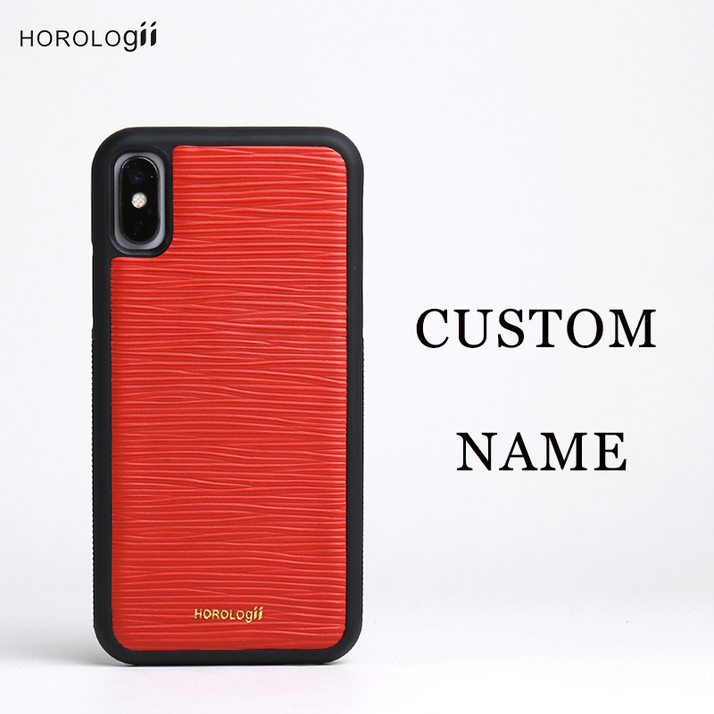 Horologii CUSTOM NAME FREE phone cases for Iphone X 7 plus