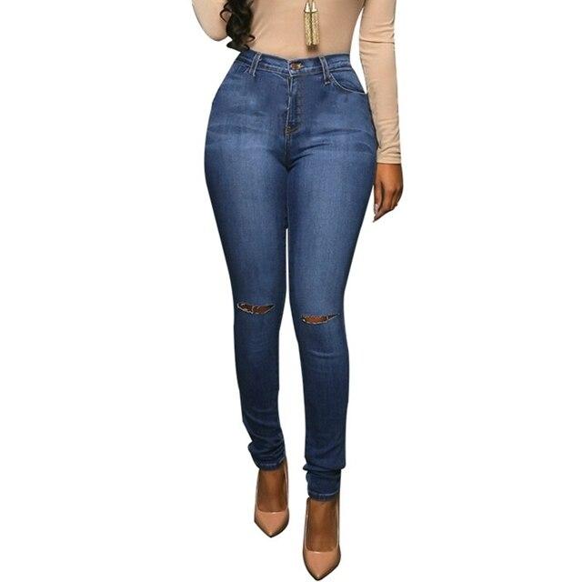 Aliexpress.com : Buy Lguc.H Women Slim Ripped Jeans for Women Hip ...
