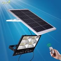 Outdoor Floodlight Solar Led Flood Light Dimmable Led Reflector IP65 200W LED Spotlight 6V Led Solar Panel Floodlight For Garden