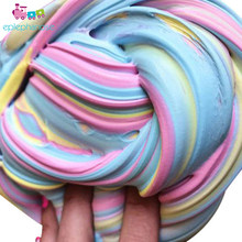 Soft fluffy slime toys putty styrofoam light Playdough Slime supplies Plasticine Gum Polymer soft modeling Clay Slijm Speelgoed(China)