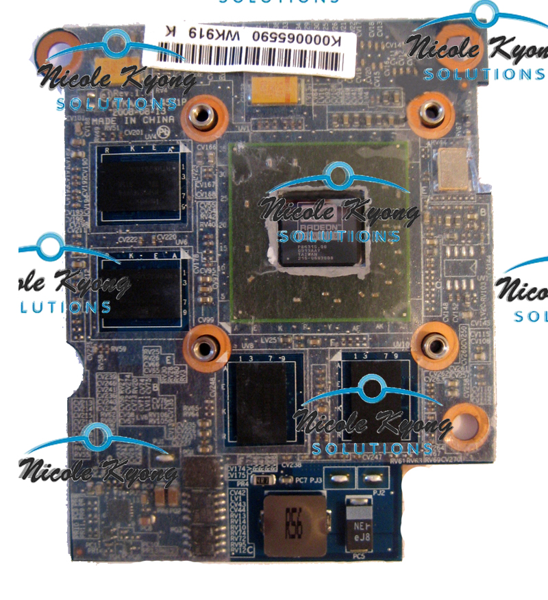 V000190290 Toshiba Satellite A505 ATI Video Graphics Card w//Heatsink 6050A2251501