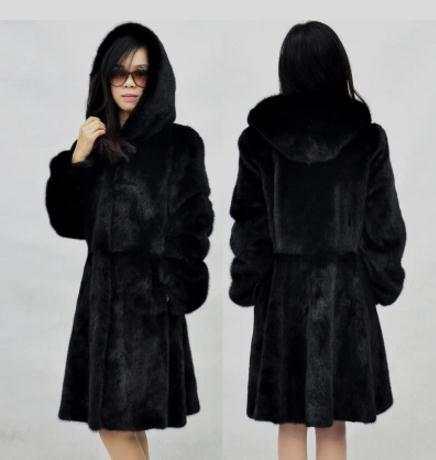 628609d2ea Online Shop 2019 Newest Womens Hooded Long Section Black/White Fake Fur  Jackets Casual Faux Fur Overcoats Plus Size Fur Outwear Jackets K515 |  Aliexpress ...