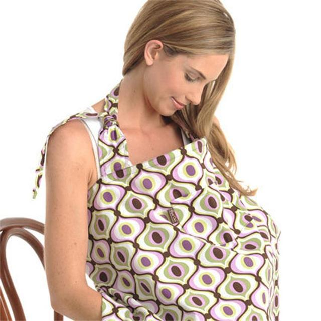 Cubierta cubierta de la lactancia materna de enfermería bebé delantal poncho o capas allaitement couverture