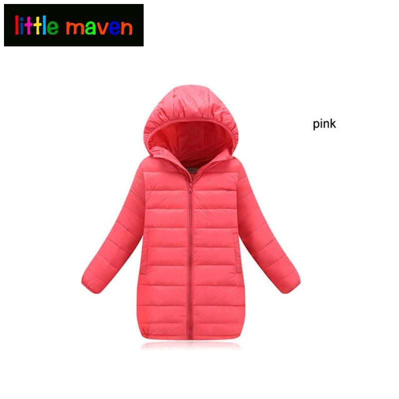 От 4 до 12 лет для маленьких девочек длинные Зимняя одежда детское пальто куртка с капюшоном куртка с рисунком верхняя одежда для детей Обувь ...