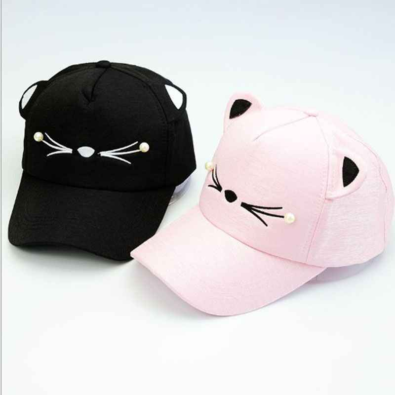 ad4609e4870 ... Fashion Baby Baseball Cap Unisex Leisure Kids Hats Summer Cap For Boys girls  children Hip ...