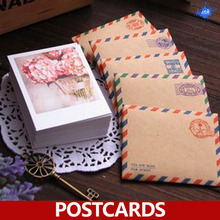 60 X(открытки+ крафт-конверты+ наклейки)/набор, 4 сезона десертные Мини-открытки в качестве праздничных поздравительных открыток