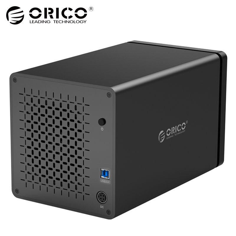 ORICO NS400U3 инструментов 4-Bay 3,5 дюймов 5 Гбит USB3.0 к SATA3.0 жесткий диск Док UASP HDD корпус чехол