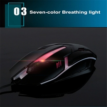 Wired Gaming Mouse RGB Light