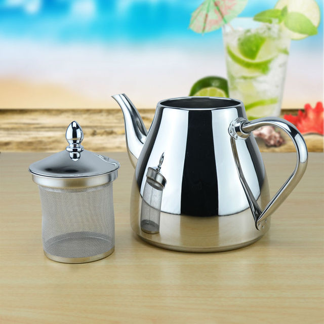 Stainless Steel Kettle with strainer
