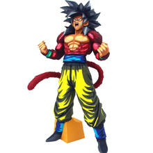 Dragon Ball Super 4 Goku Action Figures A22 Saiyan Special Color Edition Toys 34cm