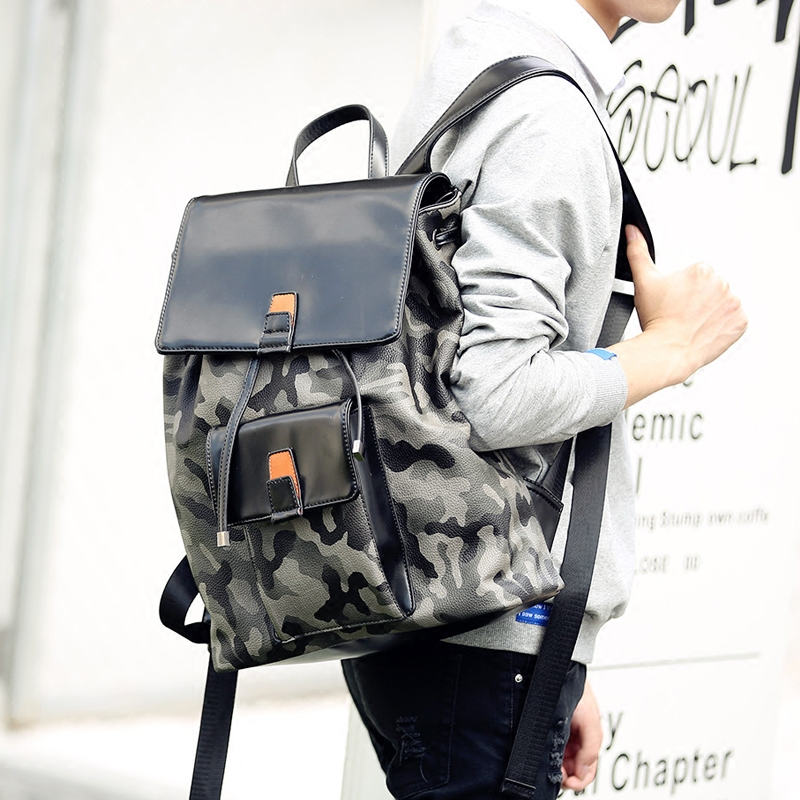 ФОТО Tidog Korean fashion trend flip cortex pumping with Student Backpack