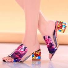 Elegant Flats Heel Flower Peep Toe Sandals