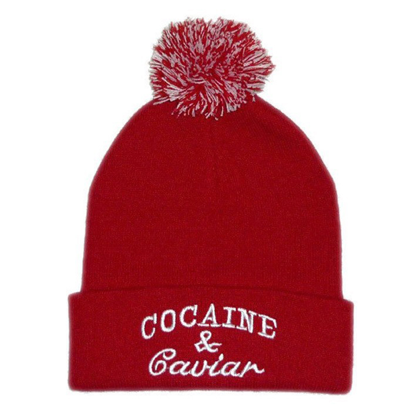 6c3701bac76 New Style Cocain   Caviar Beanies with Ball Hip Hop Cap Men Warm Knitted  Hats for Women Gorras Fashion Casual Hat-in Skullies   Beanies from Apparel  ...
