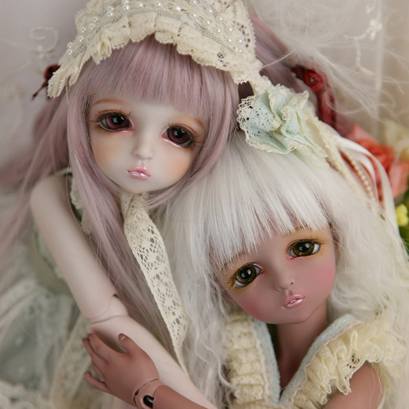 OUENEIFS Mikhaila Leeke bjd sd dolls 1/4 resin figures body model reborn girls boys eyes High Quality toys makeup shop Free eyes