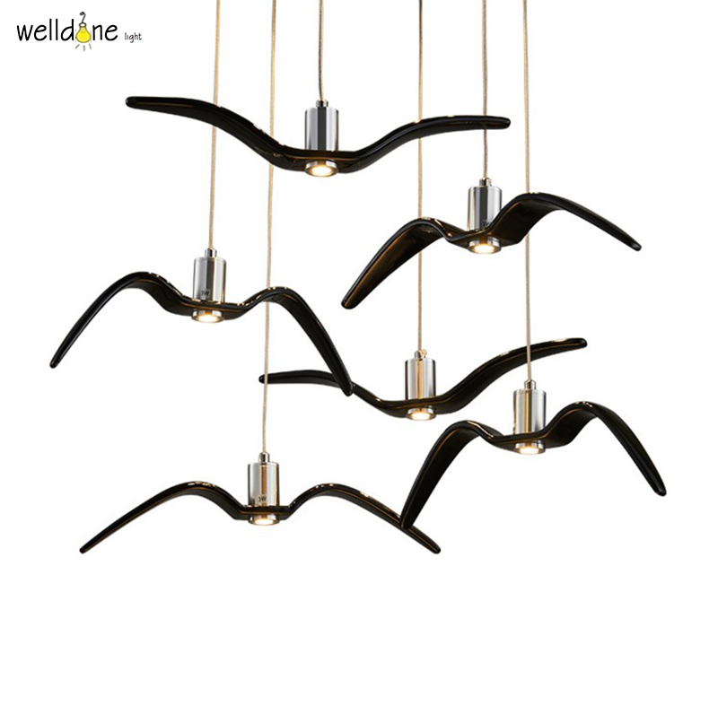 Brokis Night Birds silhouette of birds in the evening sky freedom of bird flight a poetic charm and unprecedented dynamism birds of prey