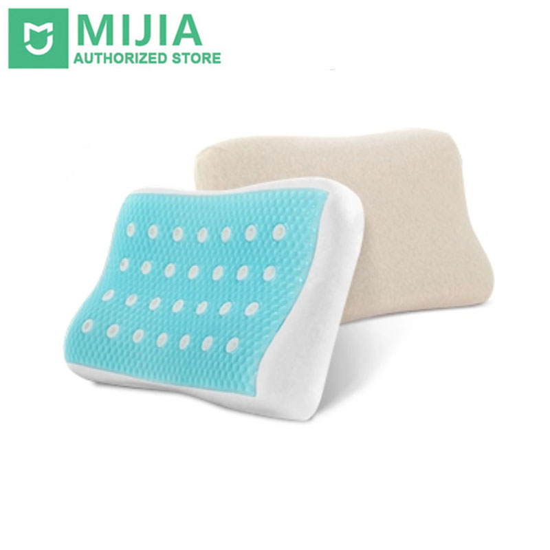 купить Original Xiaomi Summer Cool Sleep Pillow Ventilated Gel Memory Foam Cotton With Antibacterial Internal Bladder по цене 5316.72 рублей