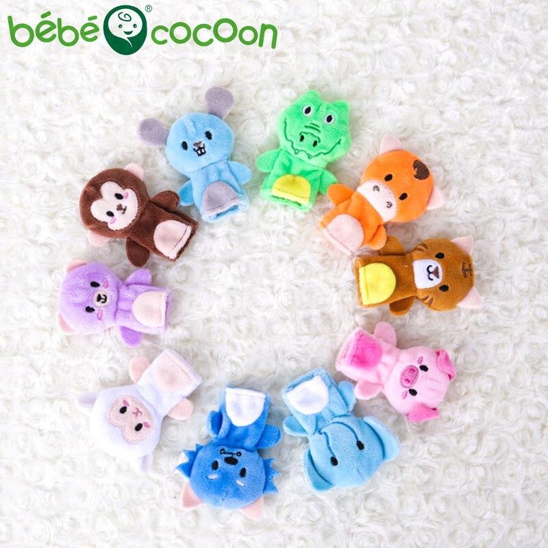 bebecocoon 10 unids / lote juguete de peluche de bebé marionetas de - Muñecas y peluches - foto 1