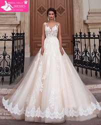 New arrival sexy a line lace wedding dress 2017 romantic robe de mariage vestido de noiva.jpg 250x250