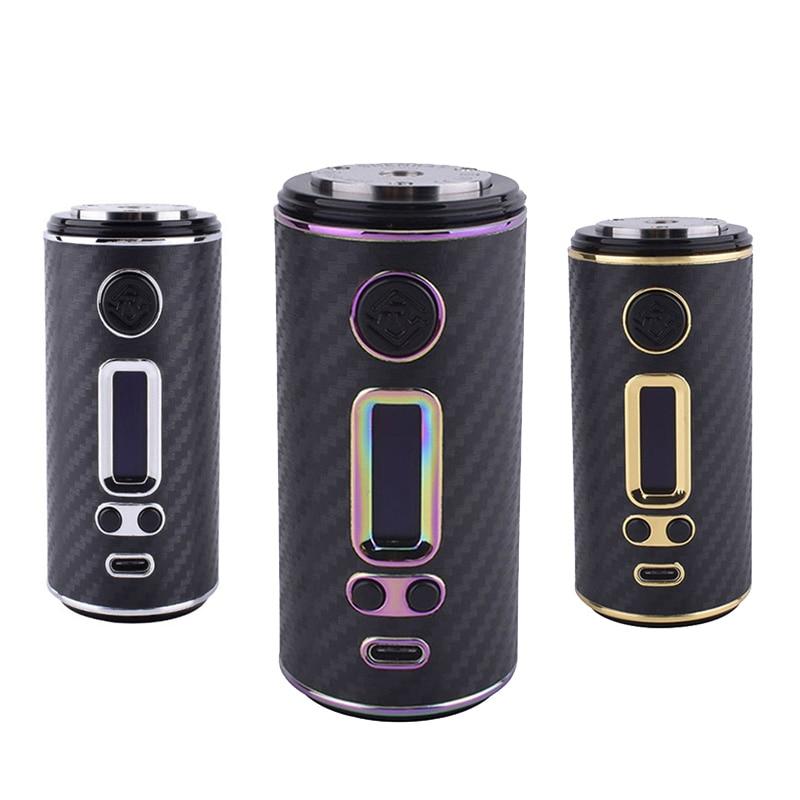 Authentique ShenRay GEO 75 W boîte à cigarettes électronique Mod fit 18650 26650 batterie 510 fil RTA réservoir avec TCR VW TC Vape Mods