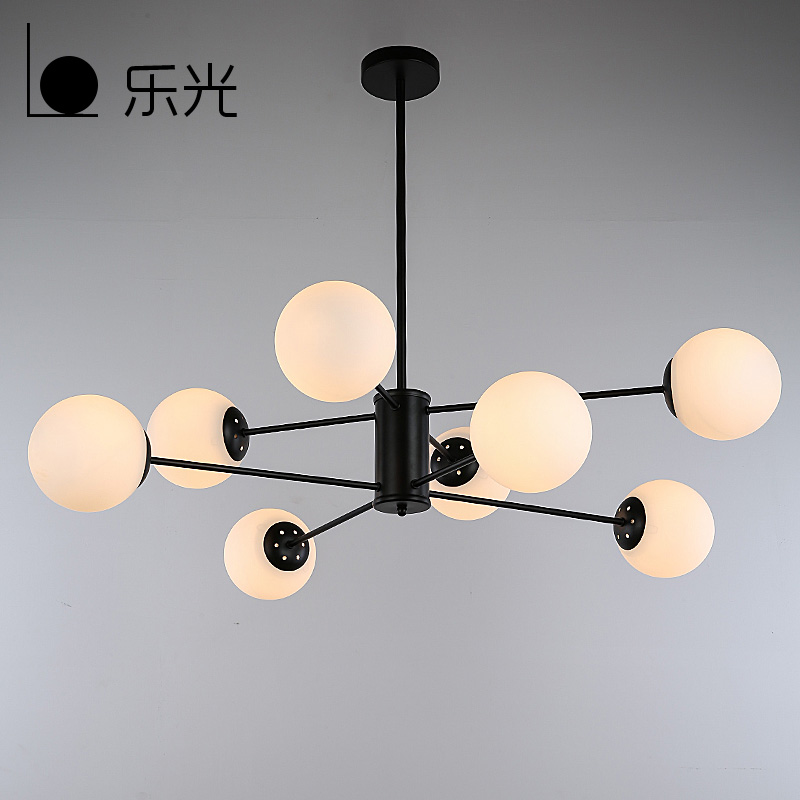 Us 196 0 30 Off Modern Magic Beans Dna Res Pendant Light Modo Jason Miller Lamps Nordic Art Deco Gl Ball Mod Hanging Lighting In