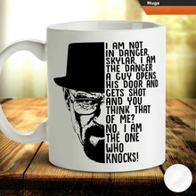 Heisenberg Walter White Coffee Tea Mug Cup Birthday Gift