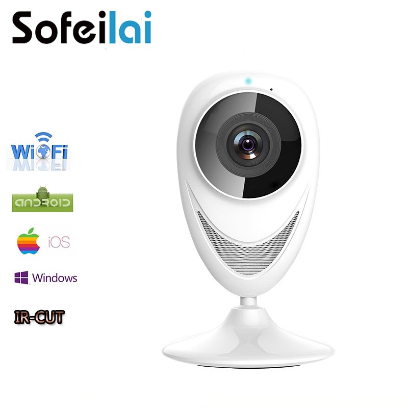 Sofeilai 360Eyes Panoramic Wireless IP Camera 720P Home Smart Wifi Hd Monitor Security Motion Detect CCTV P2P Network Cameras