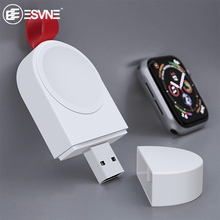 ESVNE Portable Qi Wireless Charger For Apple Watch 4 3 2 1 Series Usb Magnetic Fast charge
