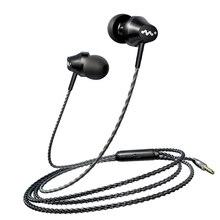 有線イヤフォンヘッドフォン 3.5 ミリメートルで耳のイヤホン低音イヤホンとマイクステレオヘッドセットサムスン Xiaomi 電話コンピュータ