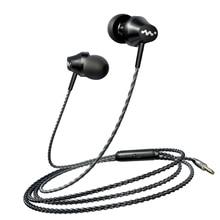 Écouteurs filaires écouteurs 3.5mm dans loreille écouteur basse écouteur avec micro casque stéréo pour Samsung Xiaomi téléphone ordinateur