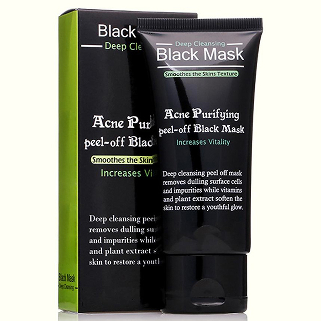 Purifying peel-off Mask Blackhead Remover Black Head Acne Treatments Face Care Suction Deep Cleansing Black Mask