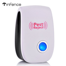 Insect Repellent Blu-ray Ultrasonic Pest Rejection Control Electronic Mouse Rodent Cockroach Mosquito