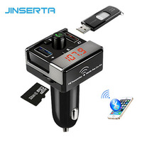 2017 Car Bluetooth FM Transmitter Handsfree Car Kit FM Radio Car MP3 Player TF U Disk