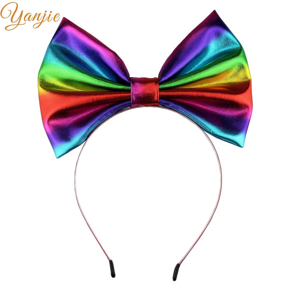 """7"""" large bow hairband girls"""