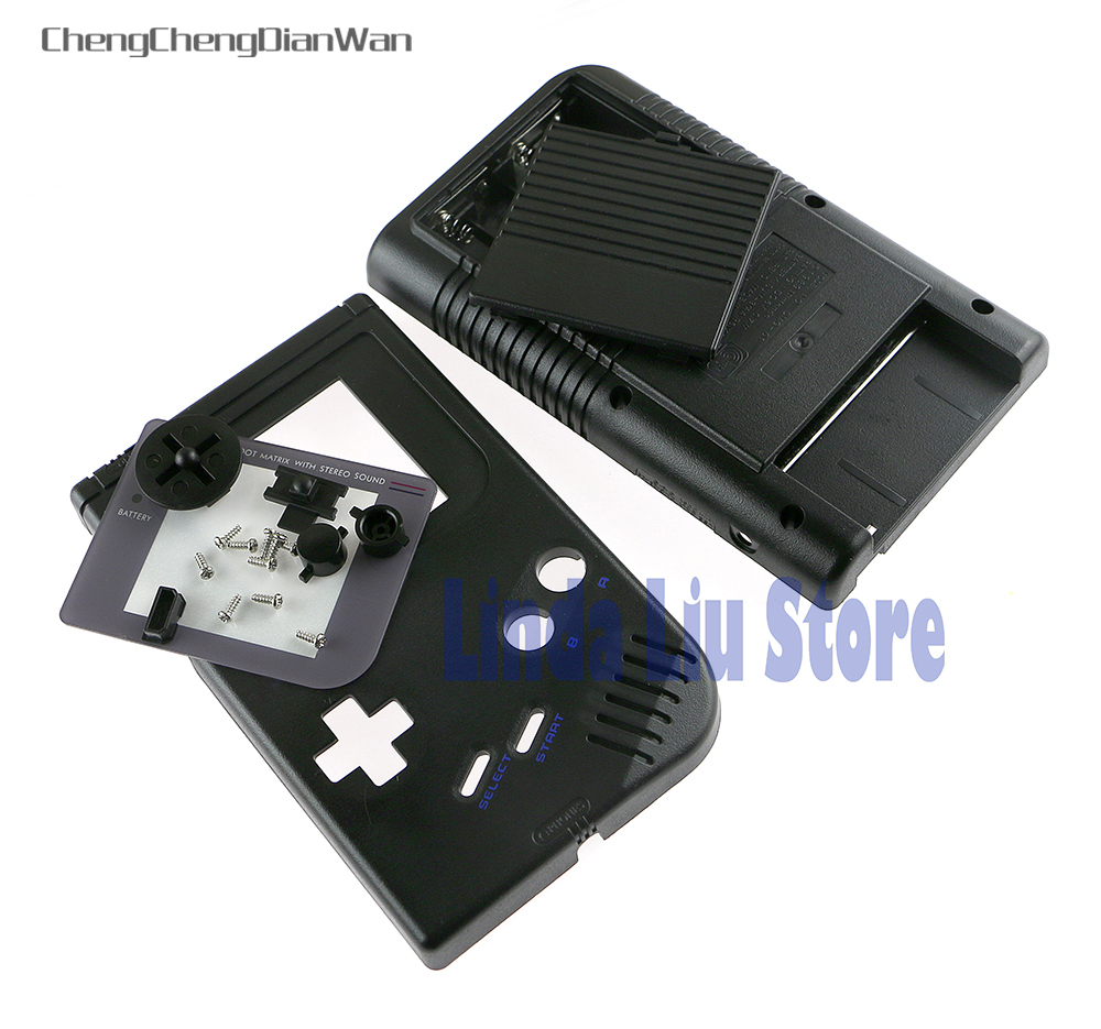 ChengChengDianWan Full Set Housing Shell Cover Case With Buttons For Nintendo Game Boy Classic GB Console DMG System Part