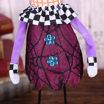 Halloween Standing Skull Soft Cloth Dolls Toy Creative Ornamentst Stuffed Filling Cotton Cloth Dolls Halloween Home Party Props 5