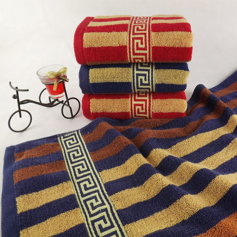 JZGH 34x76cm Striped Decorative Cotton Terry Hand Towels,Bulk Patterned  Fancy Face Bathroom Hand Towels,Toallas De Mano,T999 In Hand Towels From  Home ...