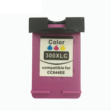 vilaxh 300 xl Remanufactured Ink Cartridge Compatible for HP 300xl Deskjet D1660 D2560 D5560 F2420 F2480 F4210 Printer