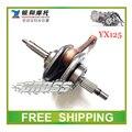 YINXIANG YX125 125CC taotao kayo bse dirt pit bike horizontal ENGINE crankshaft parts 125c accessories free shipping