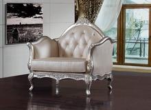 Designer estilo moderno classificados vaca couro cadeira / sofá de canto sala de mobiliário sofá chesterfield cadeira